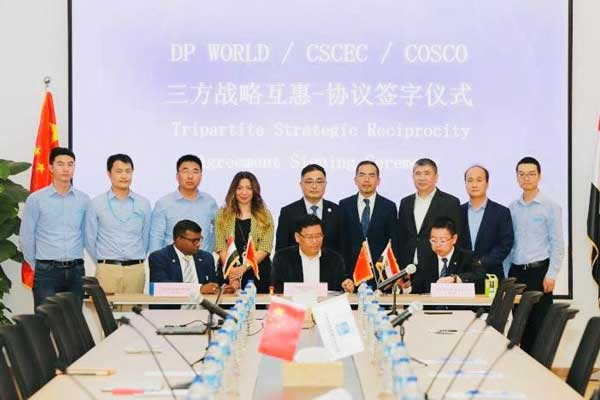 DP World Sokhna in deal with Chinese construction firms