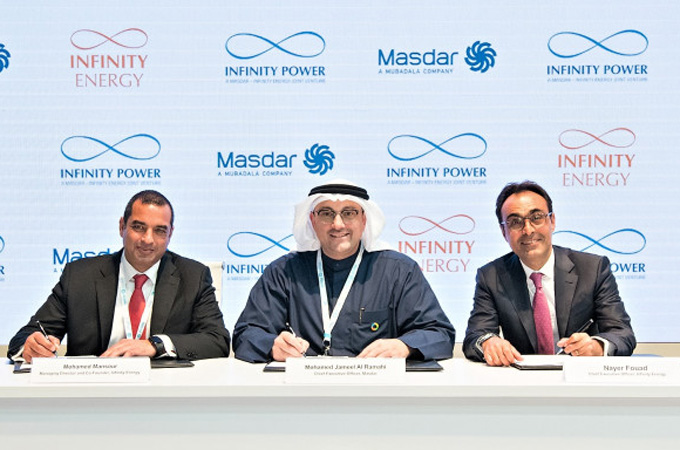 Egypt firm, Masdar set up renewable energy JV