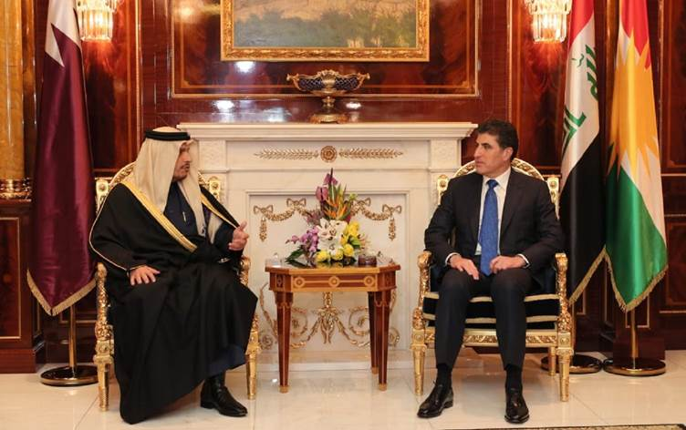 Qatar aims to increase trade, bilateral relations with the Kurdistan Region