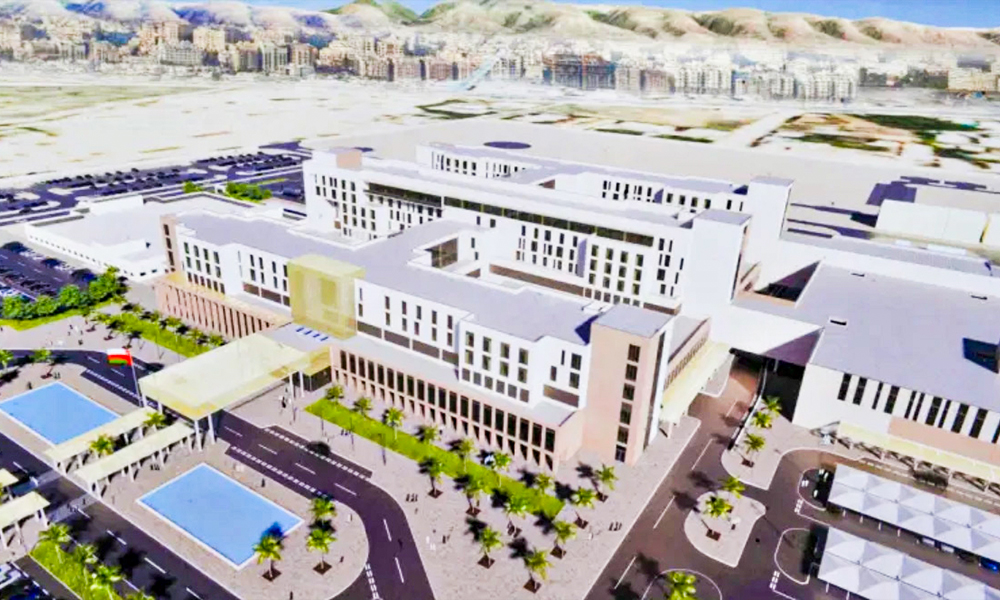 Foundation stone laid for new 700-bed hospital is Salalah, Oman
